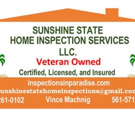 Sunshine State Home Inspection Services LLC.
